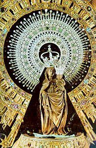 Our Lady of the Pillar - Mary appeared to the Apostle Saint James the Greater in Saragossa, Spain