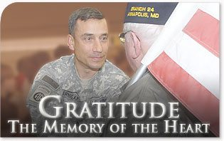 Gratitude: the Memory of the Heart