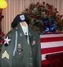 Sgt. Daniel Shaw - uniform by coffin