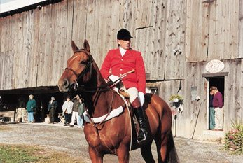Steve Hayes from Coatsville, Pennsylvania earned his scarlet coat