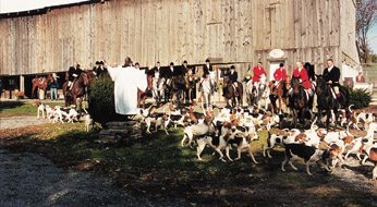 Fox Hunt in America: The Blessing of the Hounds