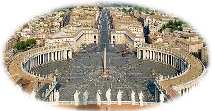 St. Peter's Square in Rome - Three Reasons the Church's Enemies Hate the Immaculate Conception