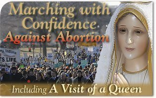 Marching with Confidence Against Abortion