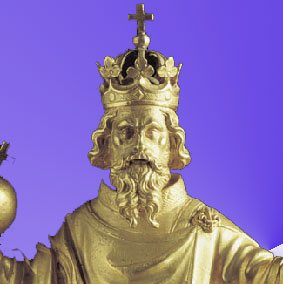 Charlemagne, Holy Roman Emperor.