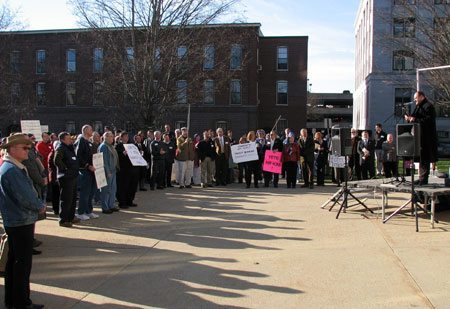April 15 - Traditional Marriage Rally and Bible Desecration Incident