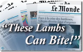 "Le Monde, The Largest French Newspaper, Responds to Massive TFP Protest: ""These Lambs of God Can Bite"""