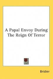 A Papal Envoy During the Reign of Terror, memoirs of Abbe de Salamon
