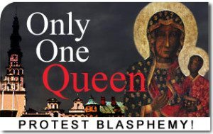 Only One Queen in Poland: Protest Madonna