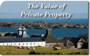The Value of Private Property
