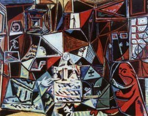 Pablo Picasso, Las Meninas - disorder, extravagance, imbalance, intemperance
