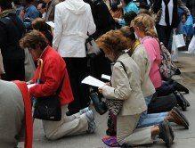 Public-Square-Rosary-Kneel