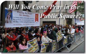 Will You Come Pray in the Public Square?