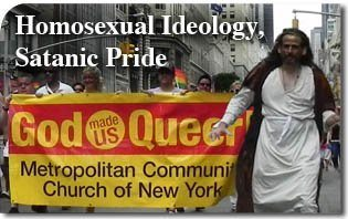 Homosexual Ideology, Satanic Pride