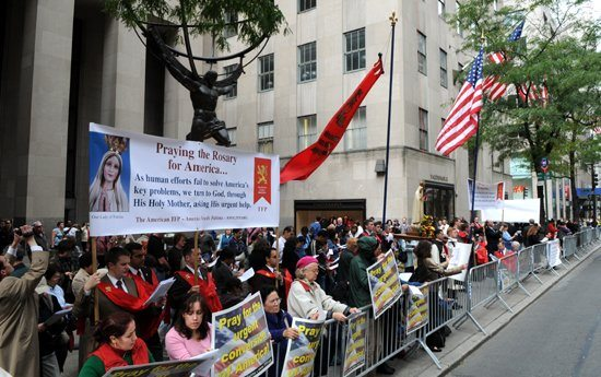 Over one hundred thousand American Catholics nationwide take to the Public Square each October in peaceful gatherings.