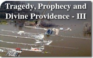 Tragedy, Prophecy and Divine Providence – III