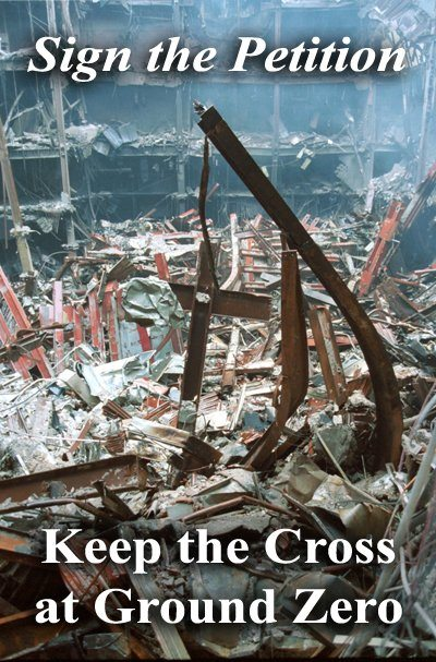 Atheists Attack 9/11 Cross