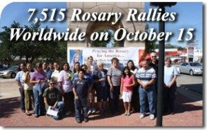 7,515 Rosary Rallies Worldwide on October 15