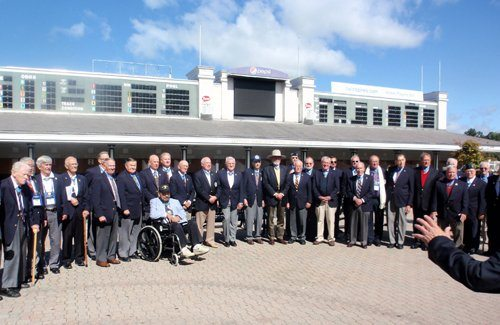 The distinguished group of Medal of Honor recipients attending this years event. During some point in their lives they had been either shot at, blown up, burned, broken, beaten, starved, imprisoned and in some cases, all of the above. For their heroism they earned our nation's highest military award for valor, the Medal of Honor (MOH).