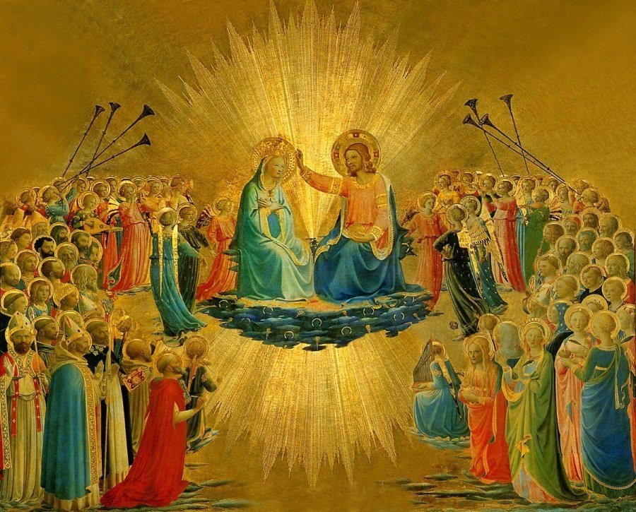 Coronation of Our Lady in Heaven