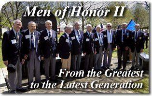 Men of Honor World War Doolittle Raiders Vietnam Afganistan American POW Veterans