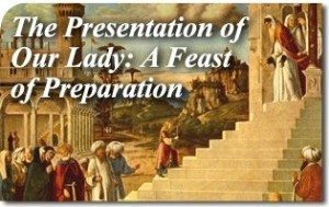 The Presentation of Our Lady: A Feast of Preparation