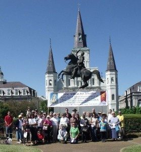 Public Square Rosary Rally Jackson Square New Orleans