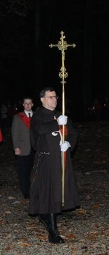 Rosary Procession TFP Ceremonial Habit