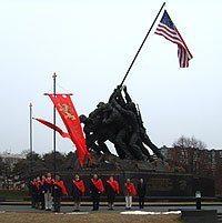 TFP Members at Iwo Jima Monument in Washington, D.C..jpg