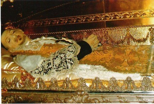 Saint Vincent de Paul's Incorrupt Body