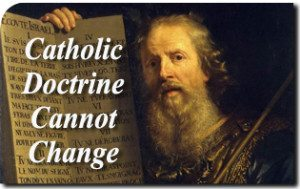 Regarding Homosexual Practice, Catholic Doctrine Cannot Change