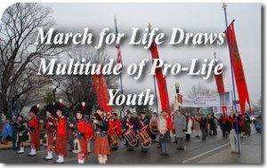 March for Life Draws Multitude of Pro-Life Youth