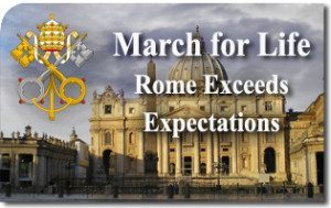 First March For Life in Rome Far Exceeds Expectations
