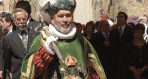 Toledo's ceremonial mace-bearer