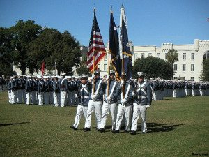 The Citadel, The Military College of South Carolina, founded in 1842