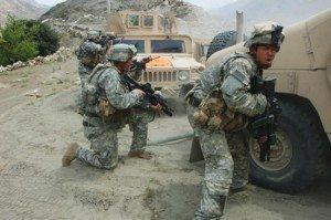 Afghanistan War Firefight