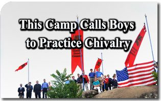 This Camp Calls Boys to Practice Chivalry