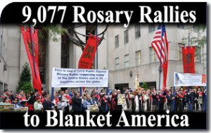 9,077 Rosary Rallies to Blanket America on Oct. 13