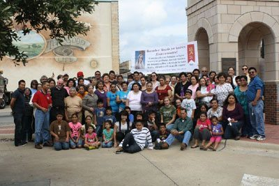 2012 Public Square Rosary Rally, Mount Pleasant, Texas