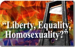 """Liberty, Equality, Homosexuality?"""