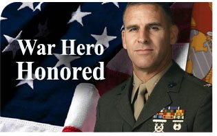 War Hero Honored as U.S. Marine Corps Turns 237