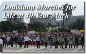 Louisiana Marches for Life at 40-Year Mark