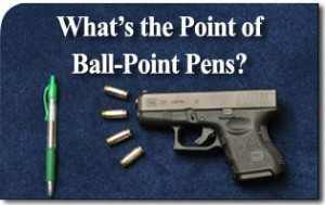 What's the Point of Ball-Point Pens?