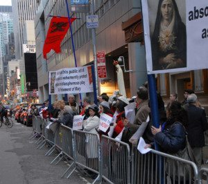 Holy Week Blasphemy Protest to Console Our Blessed Mother 2