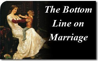 The Bottom Line on Marriage