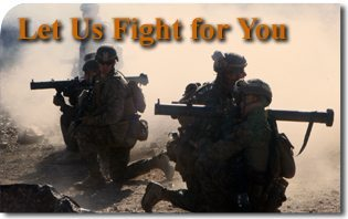 Let Us Fight for You - The moral imperative of a masculine infantry