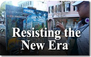 An Old World Artist Resisting the New Era