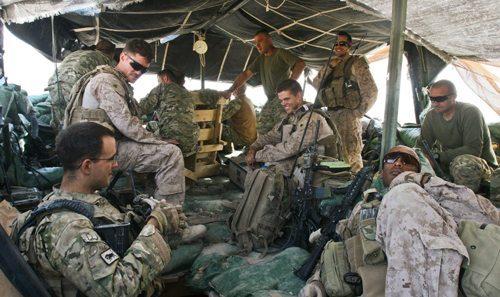American Soldier Combat Unit