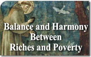 Balance and Harmony Between Riches and Poverty
