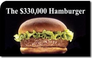 The $330,000 Hamburger