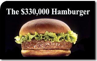 The $330,000 Hamburger